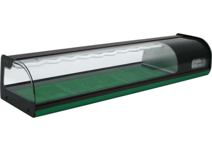 Холодильная витрина CARBOMA A37 SM 1.5‑1 Sushi (ВХСв‑1.5 суши‑кейс)