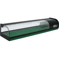 Холодильная витрина CARBOMA A37 SM 1.8‑1 Sushi (ВХСв‑1.8 суши‑кейс)