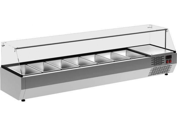 Холодильная витрина CARBOMAA40 SM 1.2‑G 0430 (VT2v‑G)