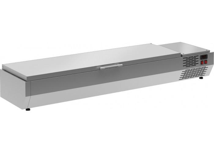 Холодильная витрина CARBOMAA40 SM 1.2 0430 (VT2‑G)с крышкой