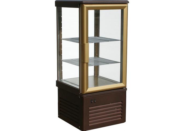 Кондитерская витрина CARBOMA D4 VM 120‑1 (R120C) inox