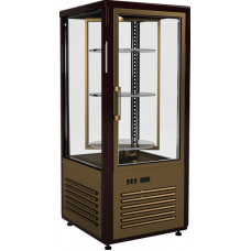 Кондитерская витрина CARBOMA D4 VM 120‑2 (R120Cвр) inox