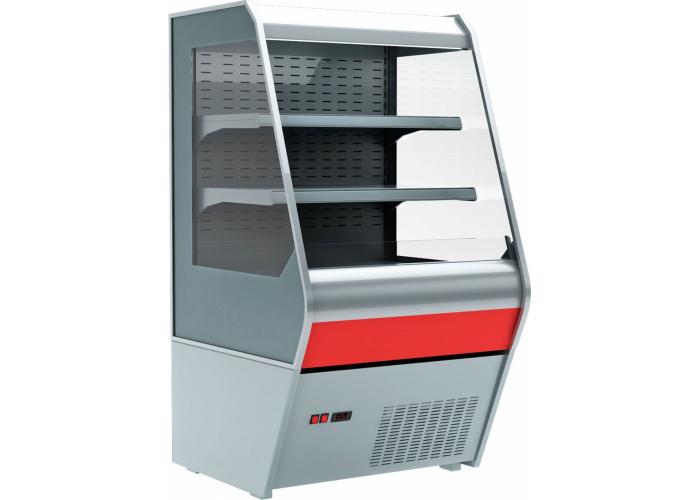 Холодильная горка CARBOMA F 13‑07 VM 1.3‑2 стеклопакет