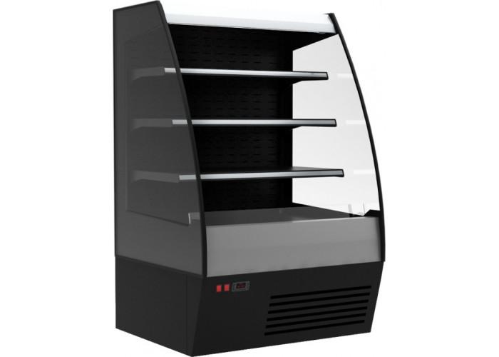 Холодильная горка CARBOMA F 16‑08 VM 1.3‑2 0020 стеклопакет