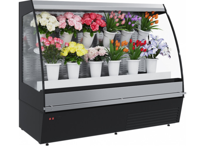 Холодильная горка для цветов CARBOMA FLORA F16‑08VM 1.3‑2 0020