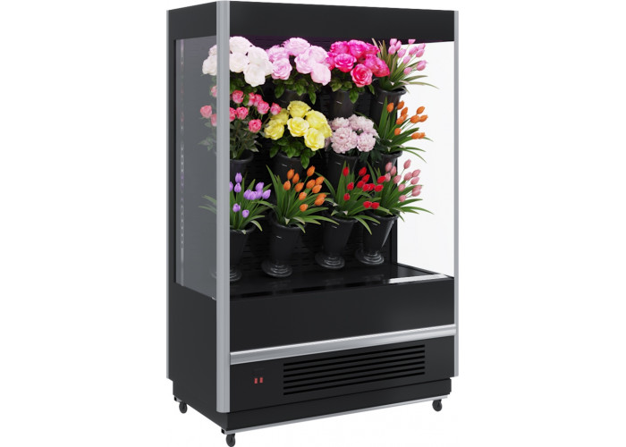 Холодильная горка для цветов CARBOMA FLORA FC20‑08VM1.3‑1 X7