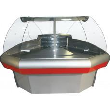Холодильная витрина CARBOMA G110 VM‑5 (ВХСу‑1,внешний угол)