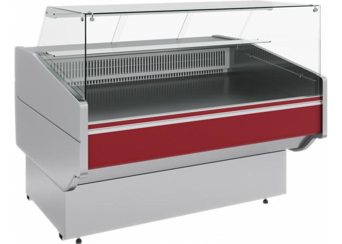 Холодильная витрина CARBOMA GC120 SM 1.25‑1