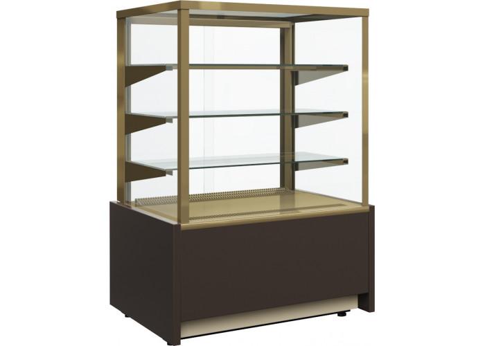 Нейтральная витрина CARBOMA KC70 N 0.6‑1 brown&gold