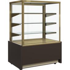 Нейтральная витрина CARBOMA KC70 N 0.9‑1 brown&gold