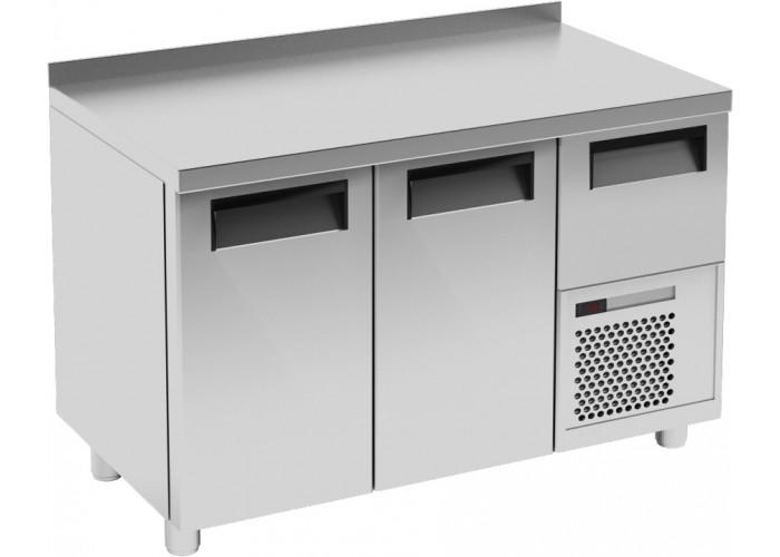 Холодильный стол CARBOMA T57 M2‑1 0430 (BAR‑250) с бортом