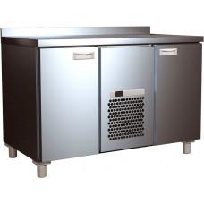 Холодильный стол CARBOMA T70 M2‑1 0430 (2GN/NT) с бортом (высота - 60 мм)