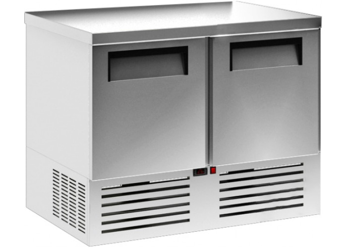 Холодильный стол CARBOMA T70 M2GN‑2 0430 с бортом
