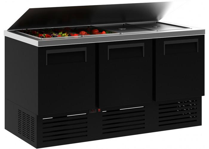 Холодильный стол для салатов (саладетта) CARBOMA T70 M2salGN‑2 9006