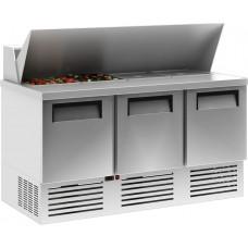 Холодильный стол CARBOMA T70 M2sandGN‑2 0430 01 с угловой крышкой (GN 1/3)