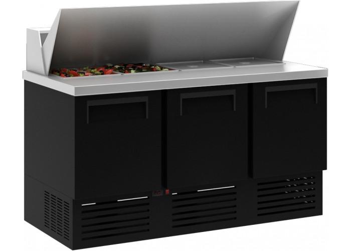 Холодильный стол CARBOMA T70 M2sandGN‑2 9006 01 с угловой крышкой (GN 1/1)