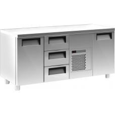 Холодильный стол CARBOMA T70M3‑10430(3GN/NT) без борта