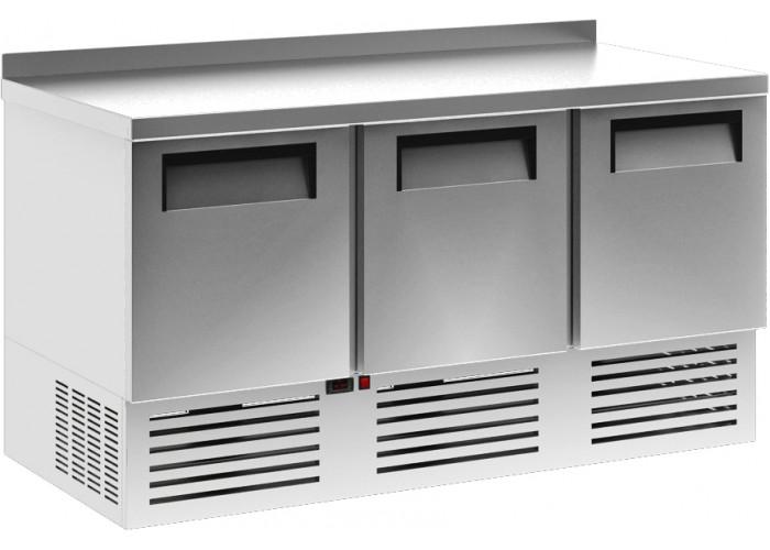 Холодильный стол CARBOMA T70 M3GN‑2 0430 с бортом