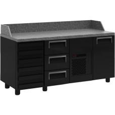 Холодильный стол для пиццы CARBOMA T70 M3pizza‑1 9006