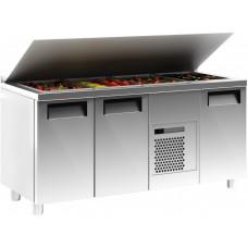 Холодильный стол для салатов (саладетта) CARBOMA T70 M3sal‑1 0430 (SL3GN)