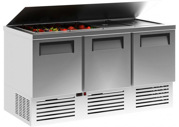 Холодильный стол для салатов (саладетта) CARBOMA T70 M3salGN‑2 0430