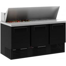 Холодильный стол CARBOMA T70 M3sandGN‑2 9006 01 с угловой крышкой (GN 1/3)