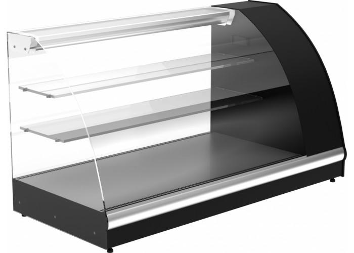Нейтральная витрина ПОЛЮСA57 N 1.2‑1 black&steel