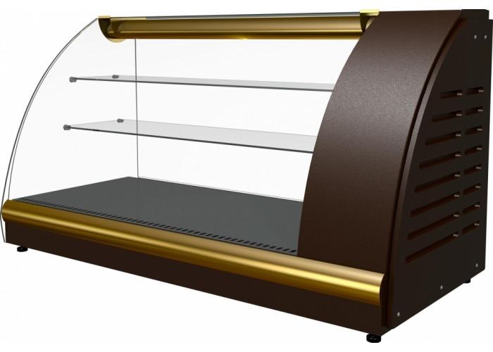 Тепловая витрина ПОЛЮС A57SH1.2‑1(ВТ‑1.2) brown&beige