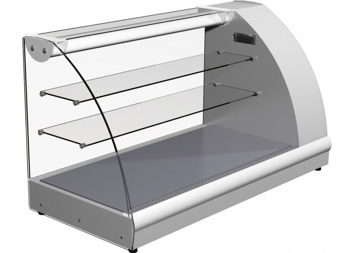 Тепловая витрина ПОЛЮС A57SH1.2‑1(ВТ‑1.2) inox
