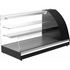 Холодильная витрина ПОЛЮСA57 VM 1.2‑1 (ВХС‑1.2) black&steel