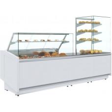 Нейтральная витрина ПОЛЮСKC80 N 1.5‑1 white