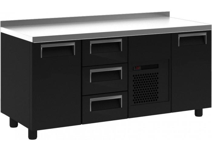 Морозильный стол ПОЛЮС T70 L3‑1 9006 (3GN/LT)