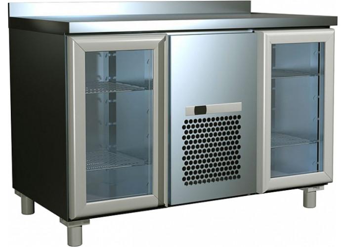Холодильный стол ПОЛЮС T70M2‑1‑G 9006 (2GNG/NT)