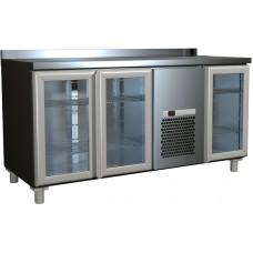 Холодильный стол ПОЛЮС T70M3‑1‑G 9006 (3GNG/NT)