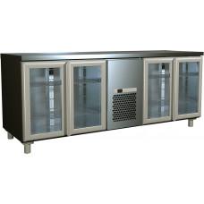 Холодильный стол ПОЛЮС T70M4‑1‑G 9006 (4GNG/NT)